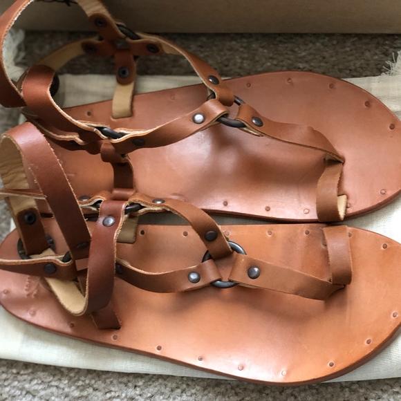 Beek Shoes - NIB Beek Lark Sandals in Tan